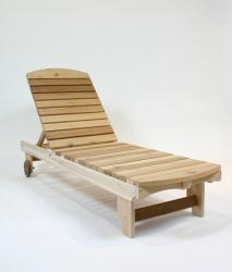Click to enlarge image Garden Chaise Lounge - Perfect for laying out in the sun or shade; multiple position for comfort