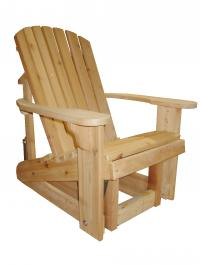 Click to enlarge image Big Boy Adirondack Glider 23